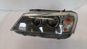 Original BMW X3 F25 2.0d Headlight Xenon Left Control Devices Headlight 7217297