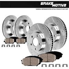 Front+Rear Brake Rotors And Ceramic Pads For 2005 2006 2007 - 2010 Honda Odyssey