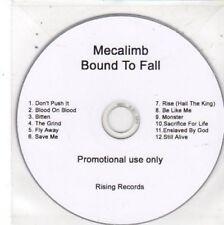(BW799) Mecalimb, Bound To Fall - DJ CD