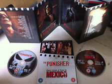 Antonio Banderas Thomas Jane ONCE UPON A TIME IN MEXICO / THE PUNISHER | UK DVD