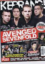 AVENGED SEVENFOLD / KORN	Kerrang	no.	1313	May	22	2010