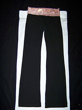 Victoria's Secret PINK Chicago Bears Yoga Pants NWT Small