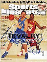 KEVIN LOVE OJ MAYO SIGNED 2007 SPORTS ILLUSTRATED UCLA USC *PSA/DNA GUARANTEED*