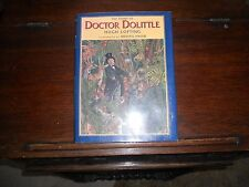 STORY OF DOCTOR DOLITTLE.Michael Hague,SIGNED w/DRAWING 1st/1st thus 1997 HCDJ