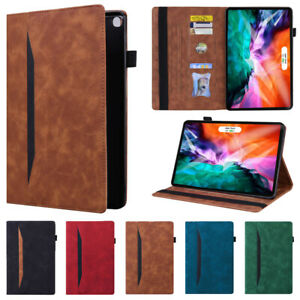 PU Leather Wallet Case Smart Stand Cover for iPad 9.7 10.2 Air4 Pro 11 12.9 Mini