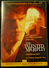Dvd The Talented Mr Ripley Matt Damon Gwyneth Paltrow Jude Law Cate Blanchett