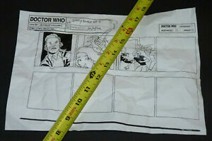 RUN Doctor Who ROSE STORYBOARD Christopher Eccleston Billie Piper Dr. Who BBC TV