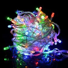 100LED 16ft Color Changing Decorative Party Christmas String Light + Control