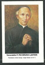 Estampa del Venerable Bruno santino holy card image piuse