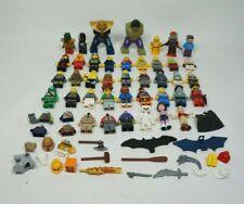 Lego Minifigure Lot of 30+ Figures Marvel DC TMNT Minecraft Star Wars Potter