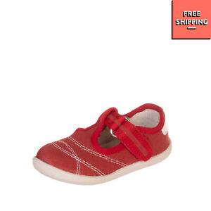 NATURINO T-Strap Shoes Size 20 UK 4 US 5 Contrast Stitching Logo Round Toe