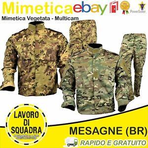 Mimetica Militare Vegetata Italiana Multicam Uniforme Militaria Softair Last Gen