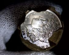 1896-p Blast White Unc Morgan Silver Dollar from a Original Roll Will Grade Out