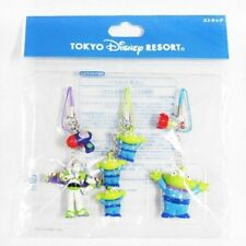 Disney Resort Limited Cell Phone Strap Set of 3 Toy Story Buzz Little Green F/S