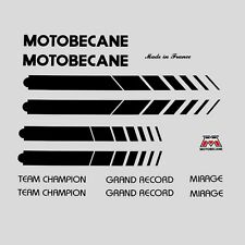 Motobecane Bicycle Frame Stickers - Decals - Transfers n.506