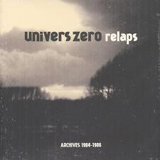 Univers zero-relaps/archives 1984-86 (vinyle 2lp - 2014-ue-original)
