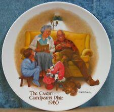8½� The Bedtime Story 1st Issue Csatari Grandparent Plate Painted Joseph Csatari