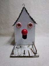 Vintage Whimsical Handmade Bird House - Wood - One of a Kind! Cute!