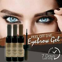 Tattoo Brow Easy Peel off Tint Gel Eyebrow Peel Long Lasting Make-up 3 Colours