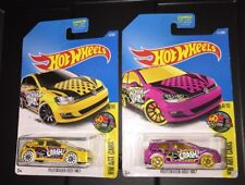 Hot Wheels Volkswagen Golf MK7 Art Cars Yellow Magenta Pink Lot 6/10 16/365 111