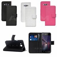 PU Leather Wallet Book Flip Case Cover For Samsung Galaxy A8 SM-A800F