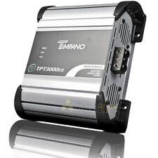 Timpano 1 Canal Monoblock Amplificador 3000 vatios 1 Ohm estable clase D TPT-3000EQ