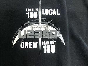 Vintage T Shirt- U2 360 Truck Loader Local Crew Gildan Size XL Black Load Out