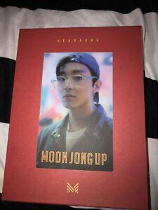 K-POP MOON JONGUP B.A.P 1st Single Album - [HEADACHE] CD+44p Booklet+Photocard
