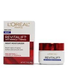 L'Oreal Paris Revitalift Anti-Aging Face Cream Night Moisturizer 1.7 oz