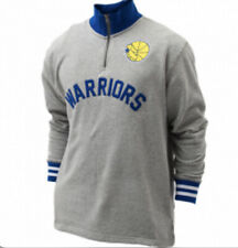 $90 Golden State Warriors Mitchell & Ness Sealed The Victory 1/4 Zip Mens MEDIUM
