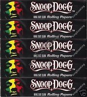 SNOOP DOGG KING SIZE SLIM ROLLING PAPERS (5 PACKS)