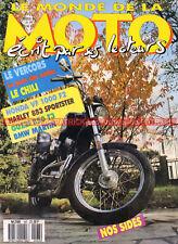 MONDE de la MOTO 167 HARLEY-DAVIDSON 883 Sportster GUZZI 850 T3 BMW MARTIN K100