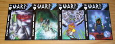 Warp-3 #1-4 FN/VF complete series - equinox - outer vision series - indy set lot