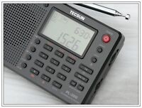 Nuovo TECSUN PL-380 DSP with ETM PLL WORLD BAND RADIO ricevitore mondo