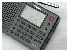 Nuovo TECSUN PL-380 DSP with ETM PLL WORLD BAND RADIO ricevitore mondo