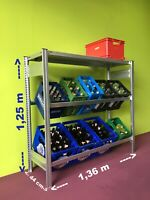 statt € 241,71 wieBild Tisch Roll Transport Magazin Etagen Plattform wagen
