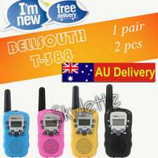 Pair Mini Walkie Talkie for Child Amateur T-388 2PCS Two Way Radio Bell South