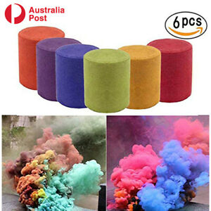 Multi Colors Smoke Effect Cake Shows Bomb Aiding Stage Toys 6* Party Photography