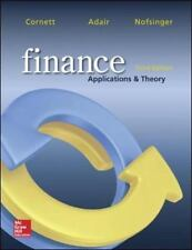 Finance : Applications and Theory by John Nofsinger, Cornett and Adair (2014, H…