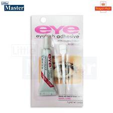 EYE WATERPROOF EYELASH GLUE Tubes CLEAR Fake False Lash Adhesive Set Strong