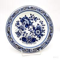 "Vintage Wandteller, Teller Koninklijke Goedewagen ""Blauw Delft"" Holland Handwerk"