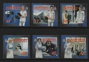 Alderney Stamps 2001 SG A163-A168 Community Service Blocks of 4 Mint MNH