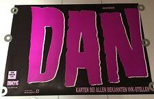 Vintage 5 1/2 Ft. Danzig II Lucifuge Tour Huge 2-Part Poster Tour Germany Dates