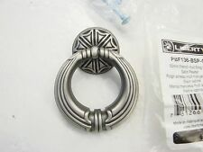 Liberty Cabinet Knobs 50MM French Huit Ring Pull/ Satin Pewter PBF136-BSP-C new