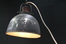 schöner alter Lampenschirm old vintage mit Kabel Hängelampe E 27