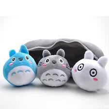 Ghibli Totoro Pea Pods Plush Figure Stuffed Animal Soft Toy Mini Figurine New