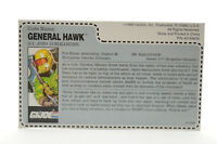 Vintage Cobra GI Joe 1992 General Hawk V.5 Mail Away Red Back Uncut File Card
