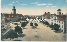 AK Zeitz Altmarkt und Rathaus (d227)