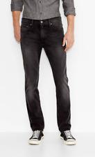 511 Slim Fit mens levis jeans  Stretch Denim  Sits below waist black color