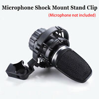 For AKG H-85 C3000 C2000 C4000 C414 Microphone Shock Mount Stand Clip Black